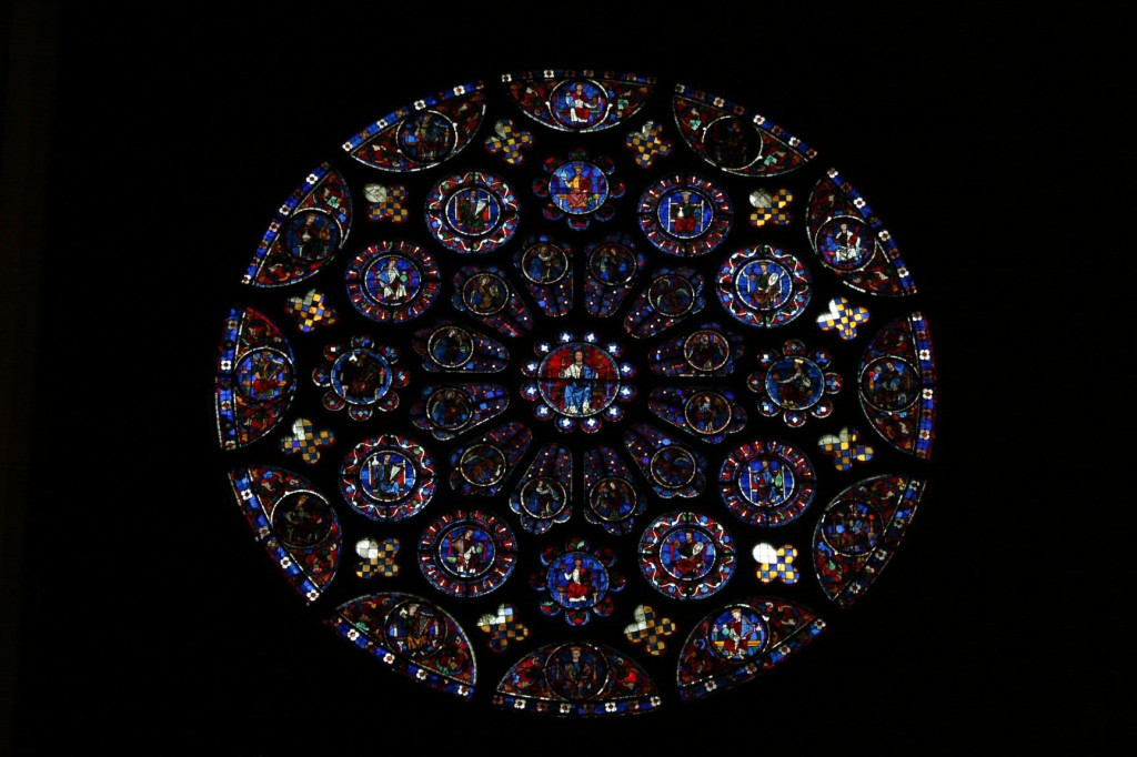 The mesmerizing Chartres blue