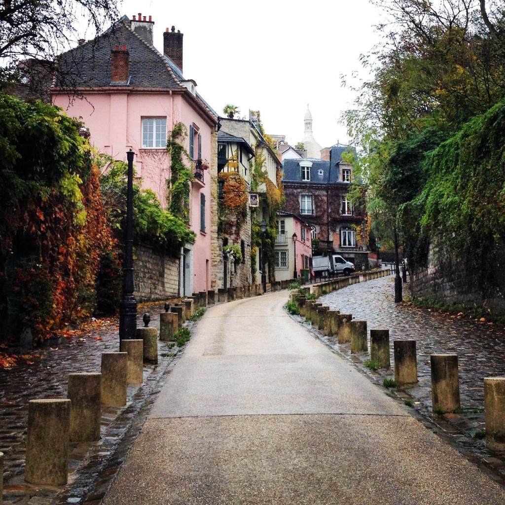 A Montmartre scenery