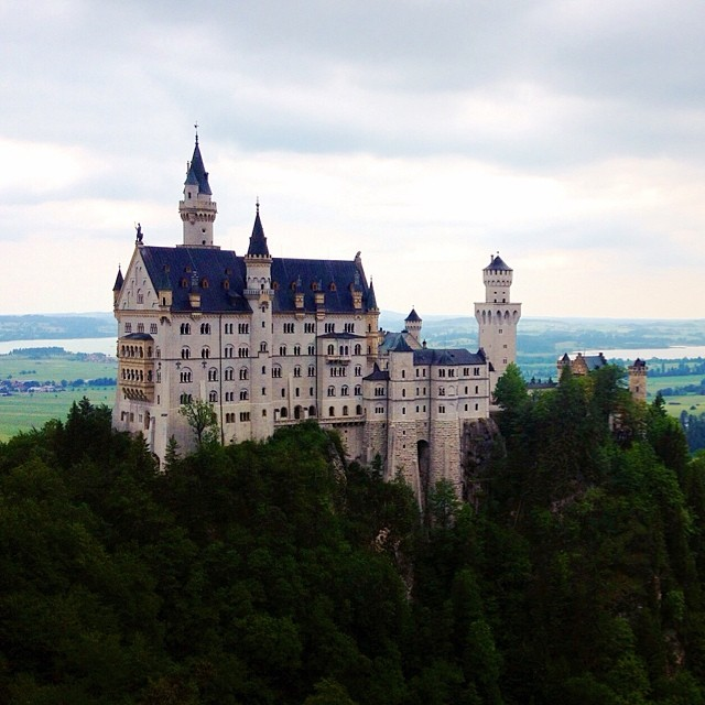 A little bit of Disney on a hill in southern Bavaria. My dream castle - Neuschwanstein!