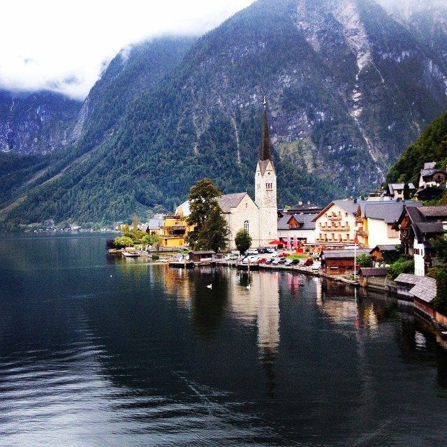 The dreamy town of Halstatt