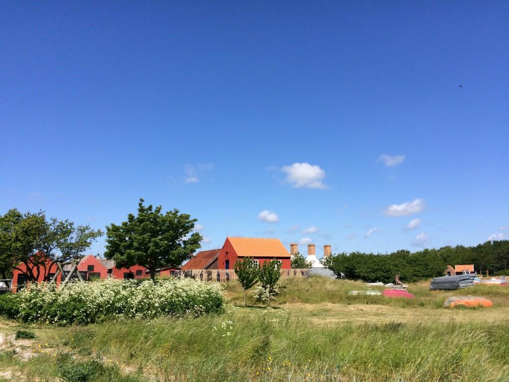 A postcard from beautiful fishing village Snogebæk