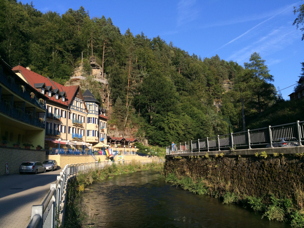 Hrensko - the timbered houses that we were looking for turned out not to be quite so spectacular.
