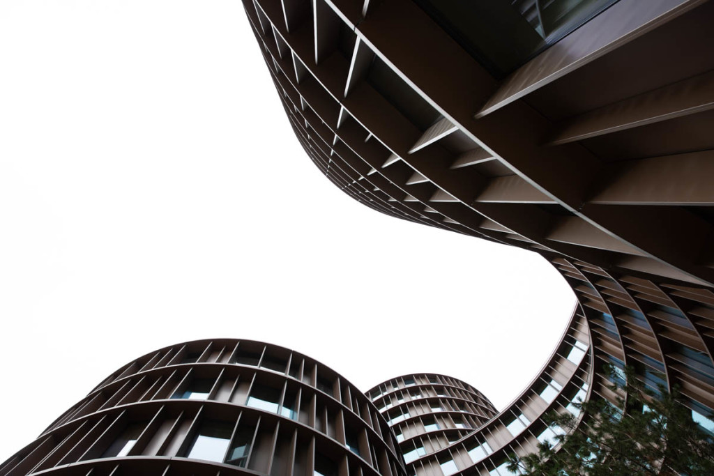 A new addition to Vesterbro - Axel Towers. Has some pretty cool angles.