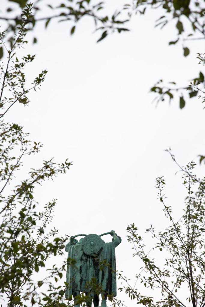 Lurblæserne - lur blowers announcing the start of autumn
