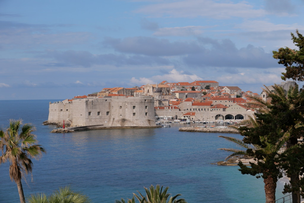 Dubrovnik in morning glow