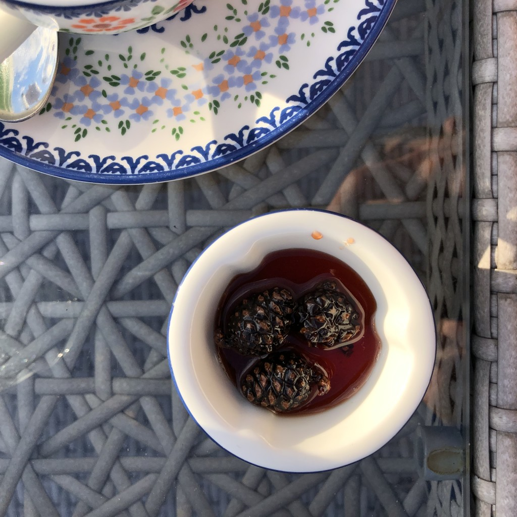Tea in Kazan comes with pine cone marmalade