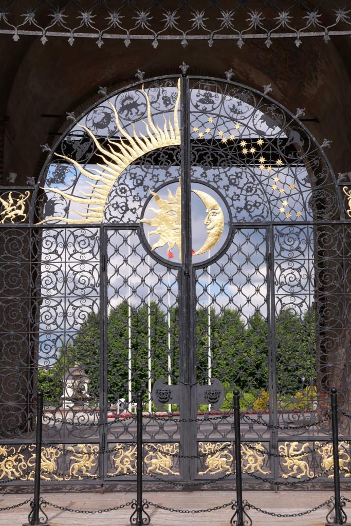 Intricate gate design