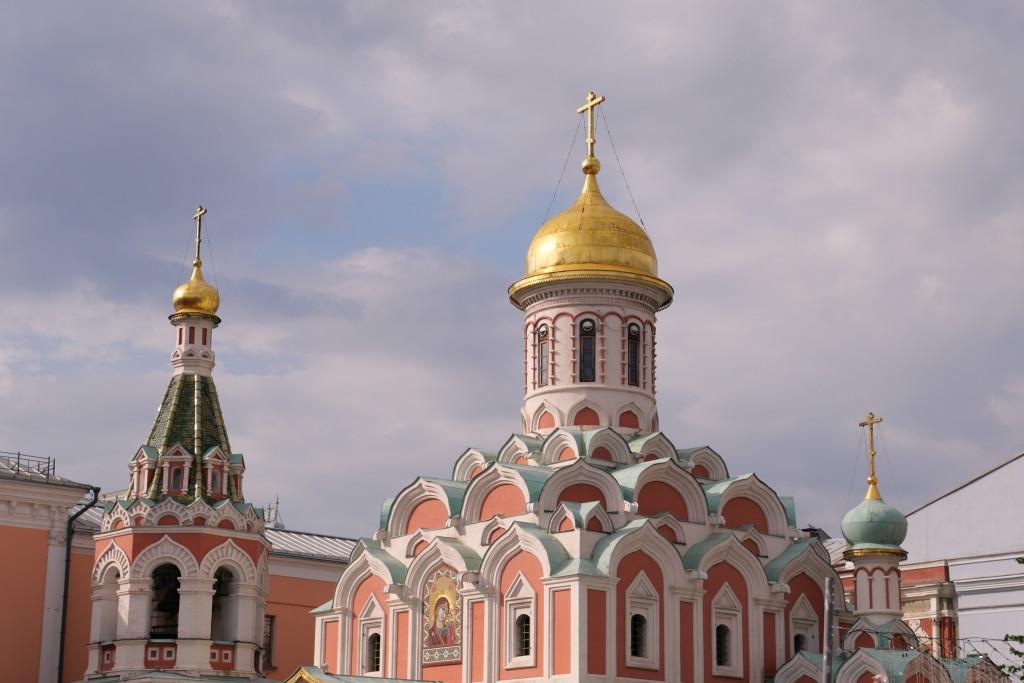 Churches around Red Square are so impressive