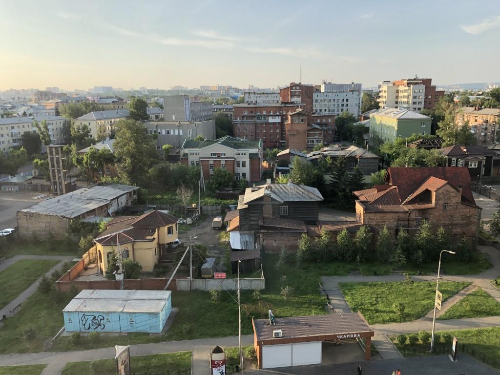 Good morning from Irkutsk :)
