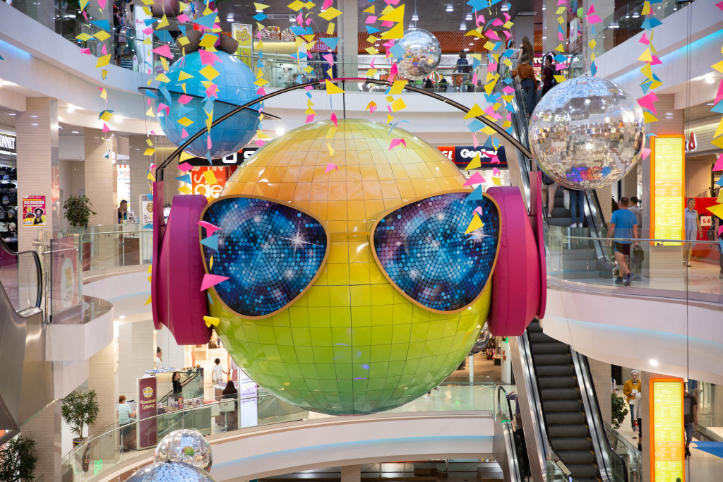 Don't ask why - this creature was the main design icon in the biggest shopping mall